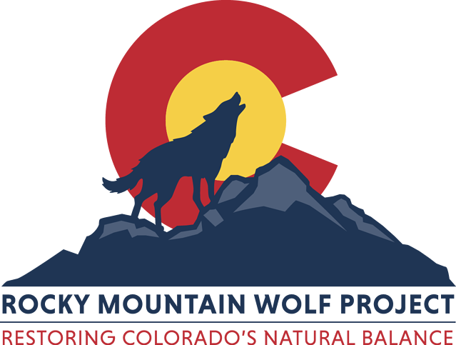 Rocky Mountain Wolf Project - Primary Logo
